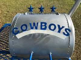 Custom made Cowboys grill