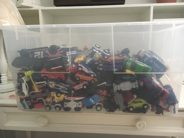 300+ toy car collection