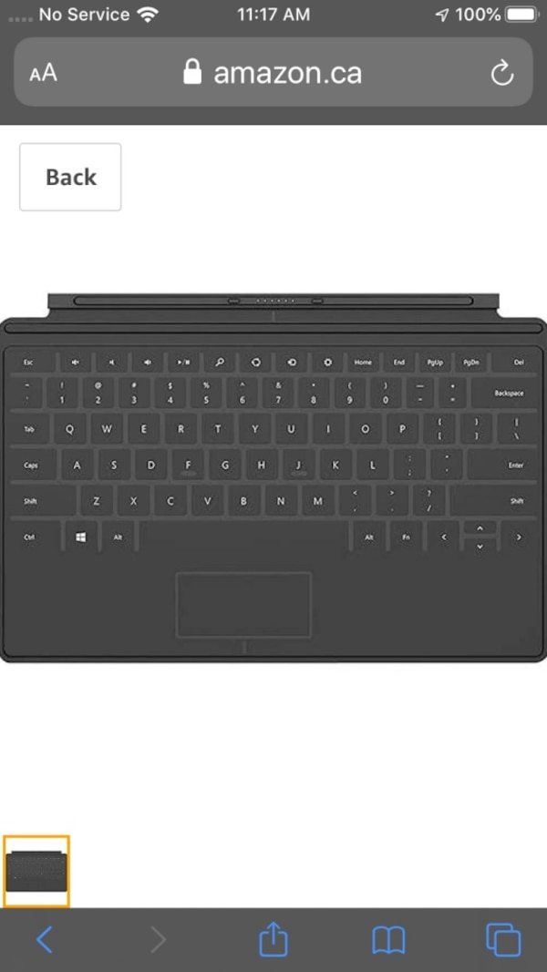 Surface touch cover keyboard d3caca6a-6a14-4c4e-abcf-2e7404113ffb