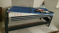 white black and red air hockey table 1814 mi