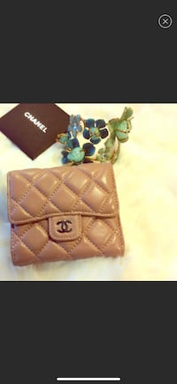 Chanel inspired lambskin leather wallet San Francisco, 94121