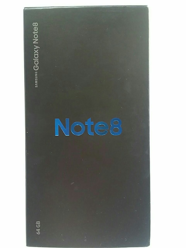 64 gb Samsung Galaxy Note8 Gold