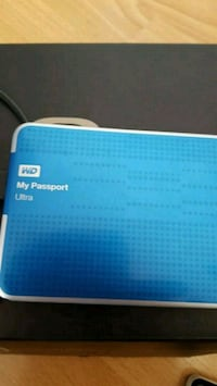 blå og hvit Western Digital My Passport Ultra Drammen, 3035