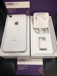 Apple iPhone Xr White 64GB - Metro by T-Mobile MetroPCS