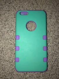 green and purple iPhone case Charlotte, 48813