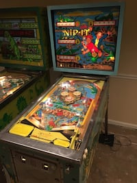 yellow and blue multicolored pinball machine Rockville, 20852