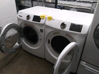 SAMSUNG front load washer and dryer set in excellent conditions Baltimore, 21223