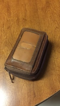 brown leather wallet Groves, 77619