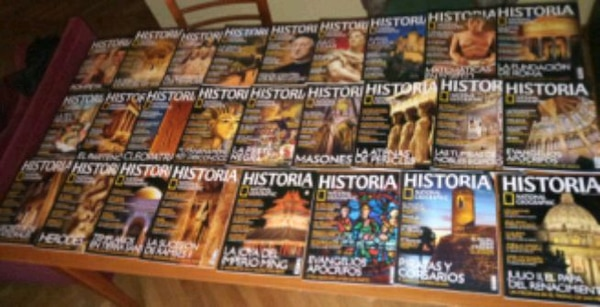 • REVISTAS NATIONAL GEOGRAPHIC •