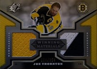 2005/06 SPx Winning Materials - Joe Thornton - 328 Toronto