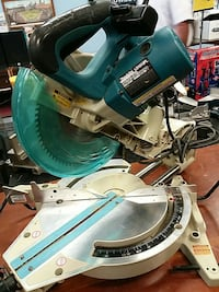 green and grey Makita miter saw Hagerstown, 21740