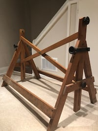 Antique Solid Wood Drafting Table Base  Toronto, M4R 1P6