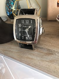 Leather watch clock from homesense  Toronto, M2N 1X9
