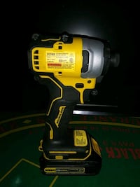 DeWalt 20V Brushless Impact Drill W/ battery.