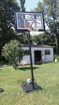 black and white basketball hoop Jasper, 64755