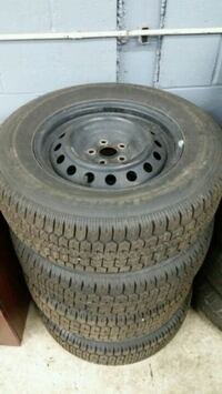 215/70/15 new steel rims with all season tires Toronto, M1L