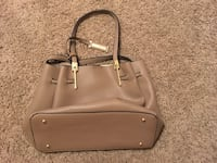 Brown leather tote bag  Chino, 91710