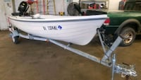 2005 14' terhi 440 fishing boat and trailer Wilmington, 19810
