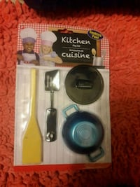 Kitchen play set for kids,never opened or used.
