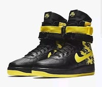 Sf Air Force 1 high black and gold size 11.5 Palatine, 60074