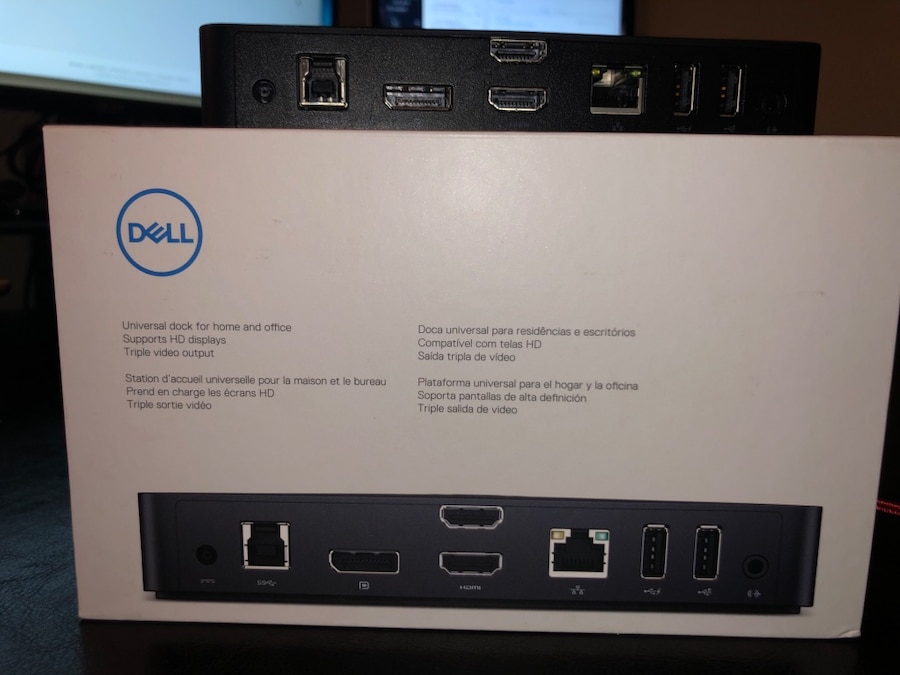 Dell usb ultra hd k triple display docking station d for