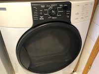 white and black front-load clothes washer Blainville, J7C 5H3