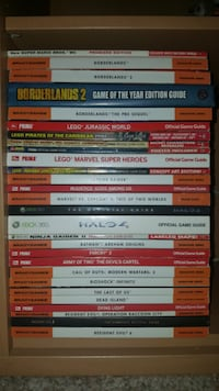 [$8 for each one] Assorted Console Gaming Strategy Guides Delhi charter Township