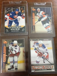 Upper Deck New York Islanders / Rangers Young Guns Rookie Cards EDMONTON