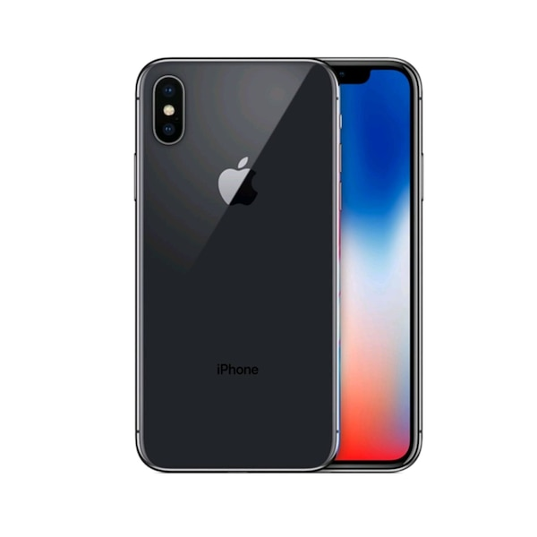 iPhone X 256GB Space Grey - med trådløs lader