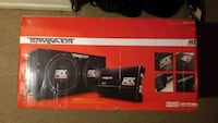 "Terminator MTX Amp and 12"" Subwoofers unopened Rockville, 20853"