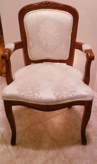 Vintage replica Victorian chair