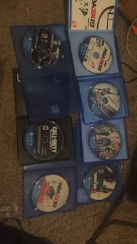 assorted Sony PS4 game discs Memphis, 38128