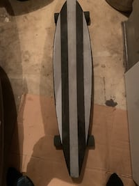 Longboard custom painted by myself, rides great, few scratches