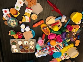 Kids play food etc