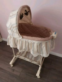 baby's white monkey bassinet Barrie, L3V 1E5