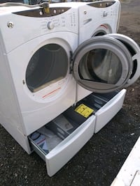 GE steam washer and dryer works good