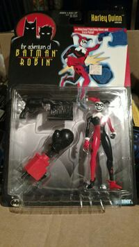 The Adventures of Batman and Robin Harley Quinn action figure pack