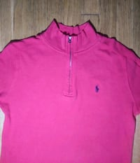 New Polo Ralph Lauren Pink Pullover - Quarter Zip