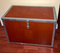 Heavy Wooden Chest