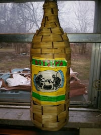 Vintage RETSINA Wine Bottle