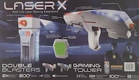 LASER X REAL LIFE LASER GAMING EXPERIENCE - 2 BLASTERS + GAMING TOWER NEW Plantation