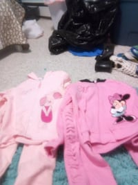 two pink Minnie Mouse and Piglet zip-up jackets set Anchorage, 99518