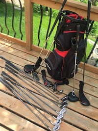 Adams Idea A12 OS plus Adams golf bag and covers
