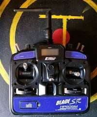 E flite 6 channel remote for planes or helicopters