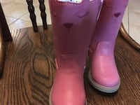 Carters toddler girls cowboy boots size 5