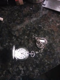 Silver pocket watch Santa Rosa