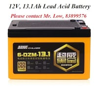 Lead Acid Battery (Electric Bike / Scooter) Yishun, 76