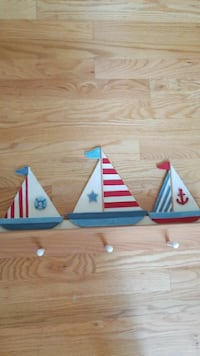 Sailboat Hat Rack