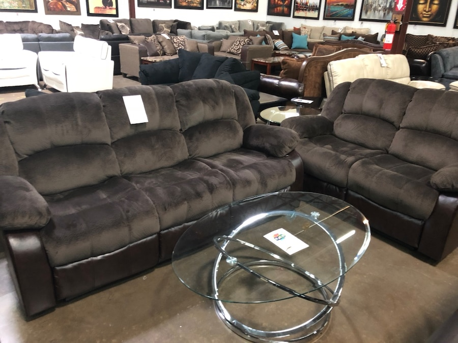 used microfiber reclining sofa and love seat brand new for sale in rh us letgo com