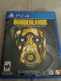 Borderlands The Handsome Collection PS4 game case Twin Lake, 49457